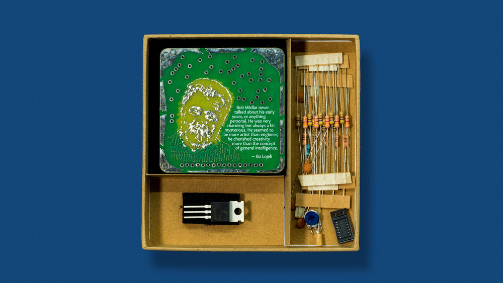 "The ""Widlar"" Boldport Club project contents"