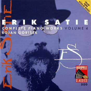 Erik Satie — Complete Piano Works and Songs (10 CDs)— Volume 4