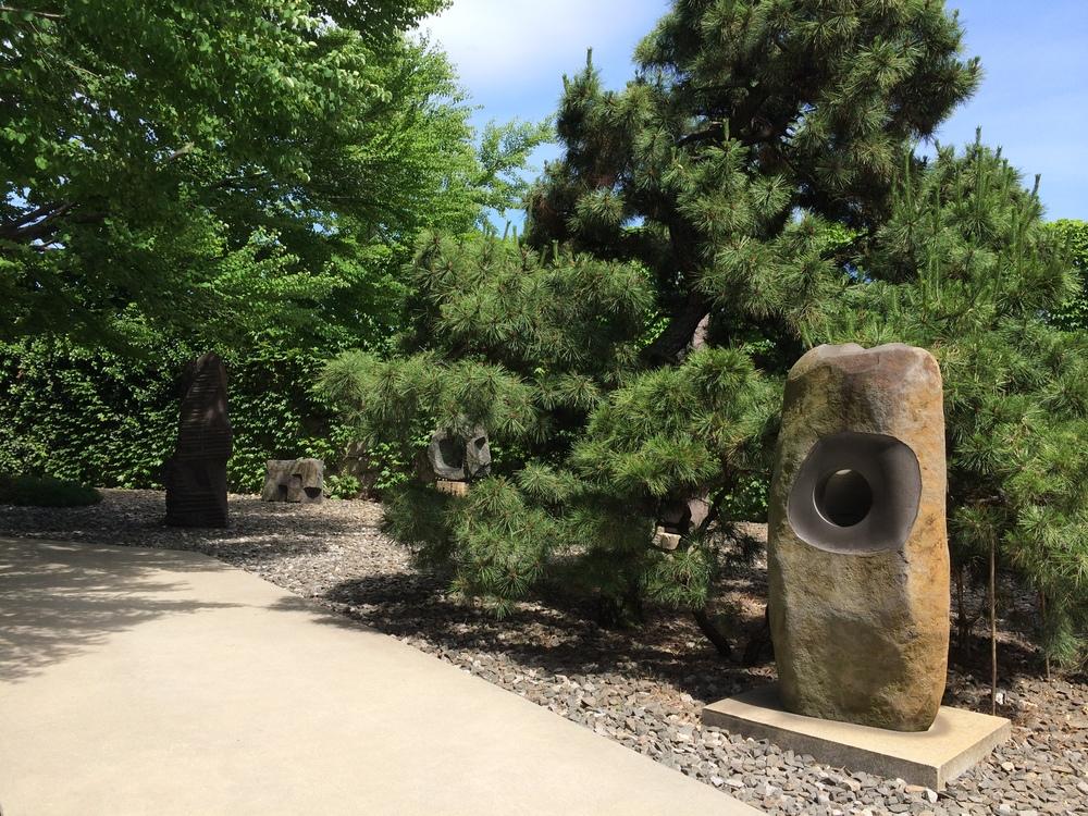 Core (Cored Sculpture) , Isamu Noguchi, 1978, Basalt.