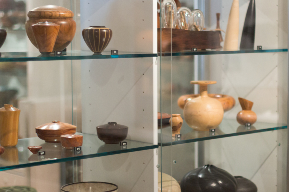 The Center's permanent collection has over 1,000 objects.