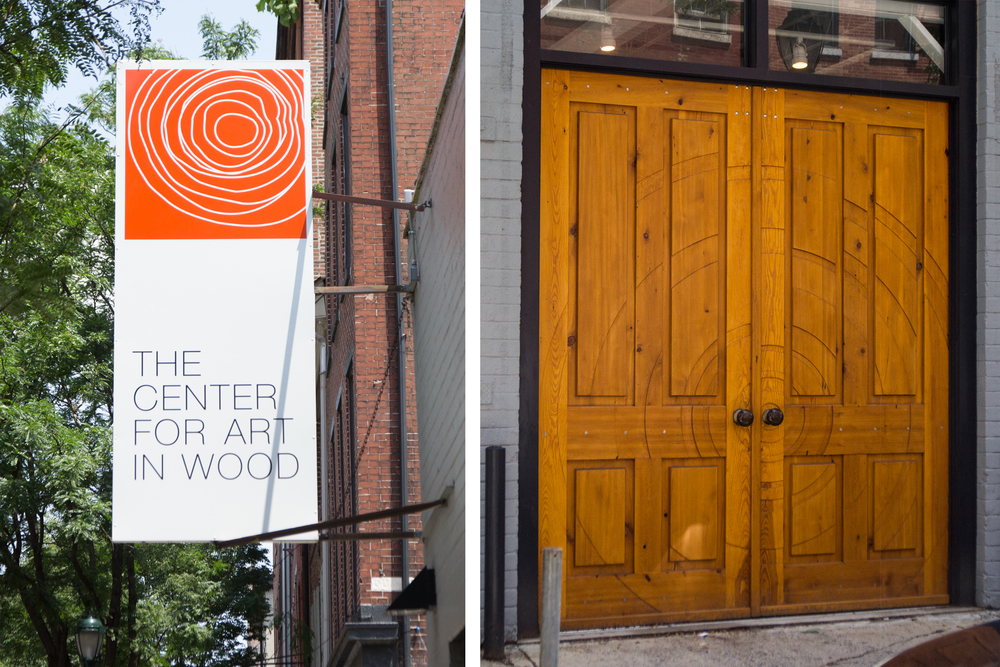 The Center for Art in Wood is located at 141 N. 3rd St. in Philadelphia, PA.