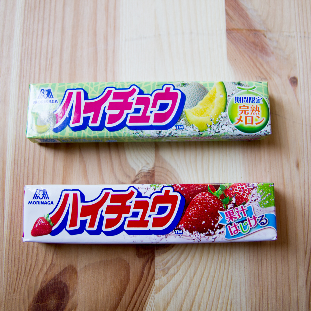 Japanese candy from our friends at Yoshii towel.