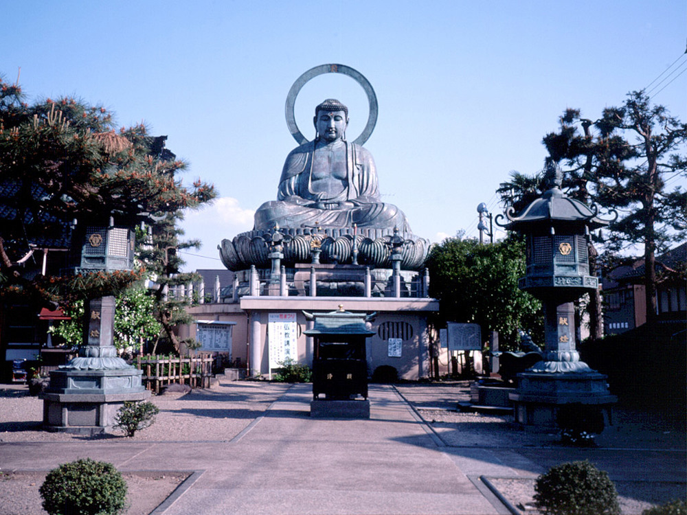 The Great Buddha of Takaoka.