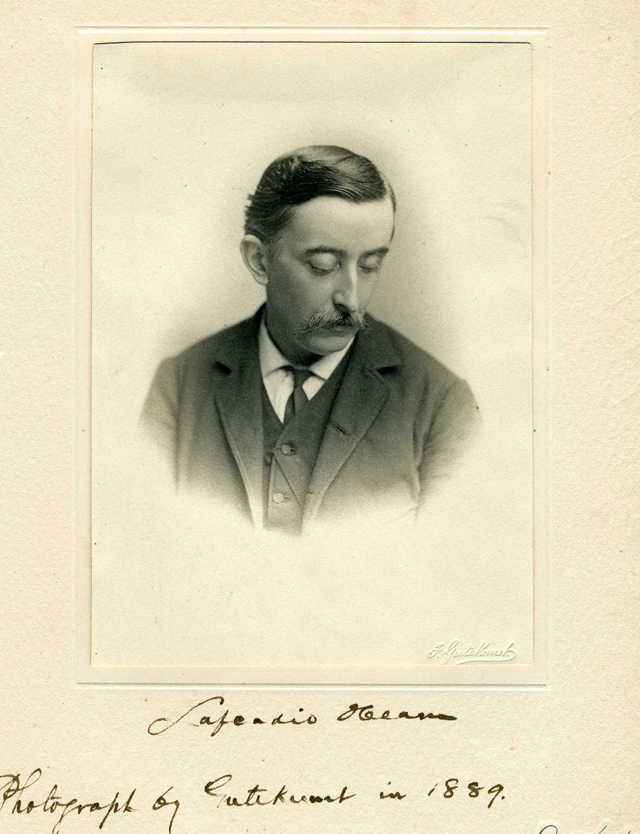 Portrait of Lafcadio Hearn. Credit.