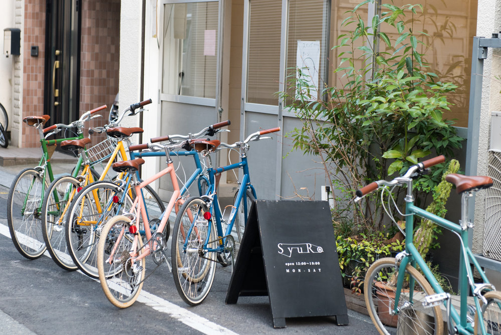 Photo courtesy of Tokyobike. Credit:  Miles & Miles.