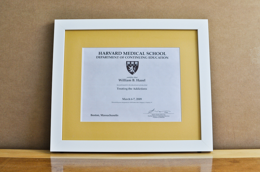style medium frame color white mat 2 yellow diploma 11