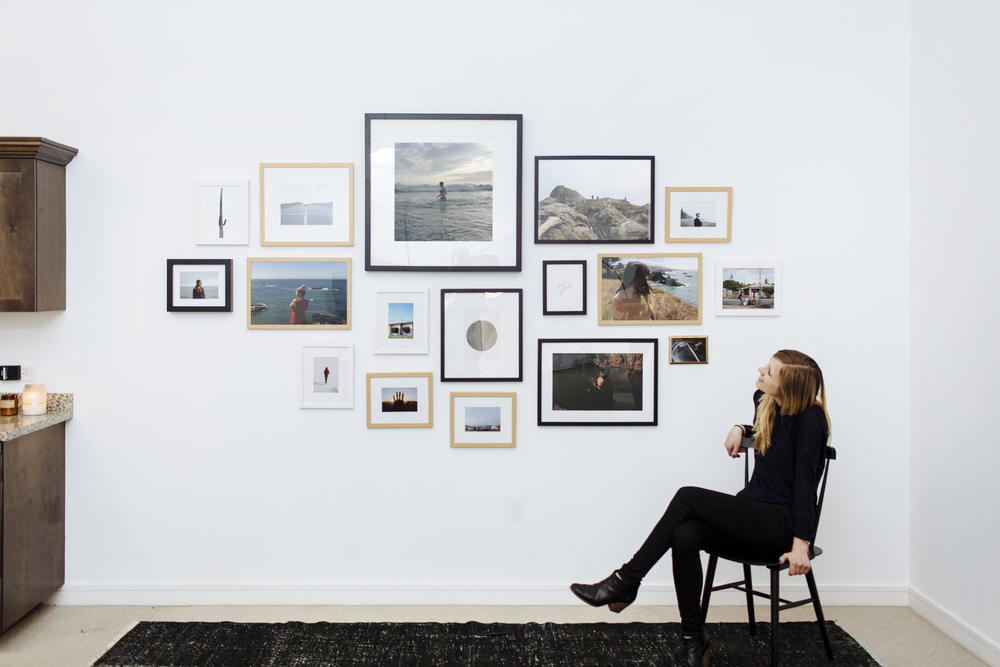 How to create the perfect gallery wall mountary for How to design wall art