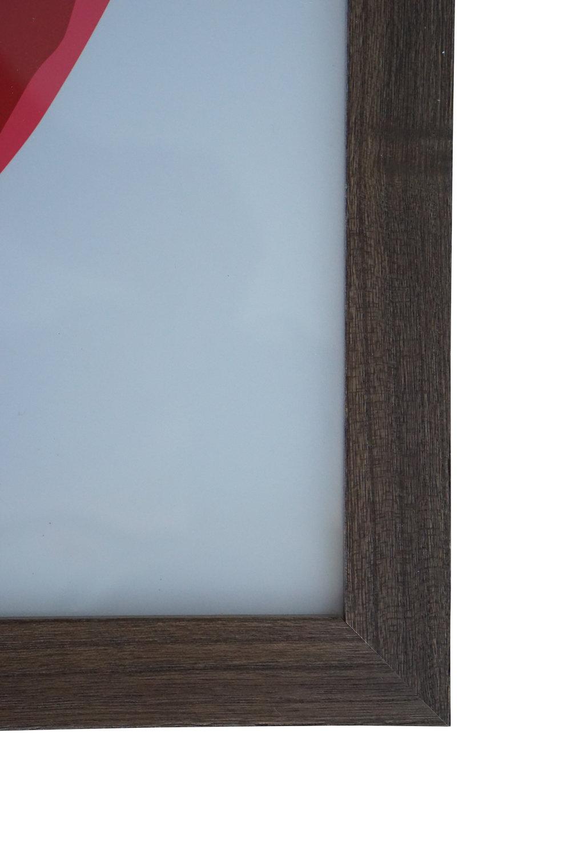 Slim Grey Natural Wood
