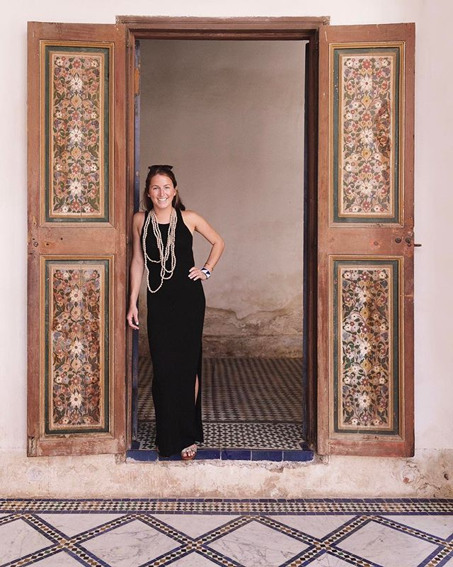 Cally just came to visit me in SF!  In September she planned the best trip to Morocco! Here she is living her best life in a palace.  You go Glen Coco 👑