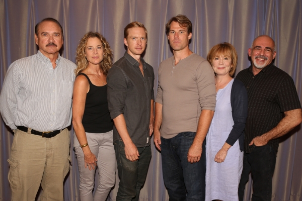 Cast of Stalking the Bogeyman: Murphy Guyer, Kate Levy, Roderick Hill, Erik Heger, Roxanne Hart, John Herrera