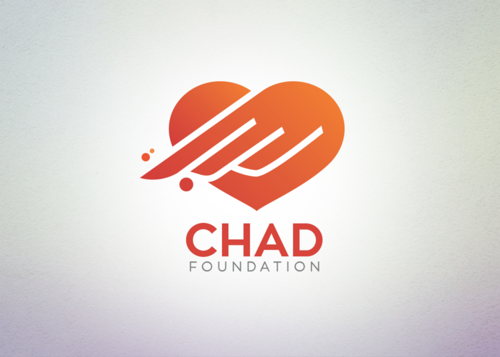 The flying heart is the symbol of Chad's mission to save lives and raise awareness of cardio myopathy