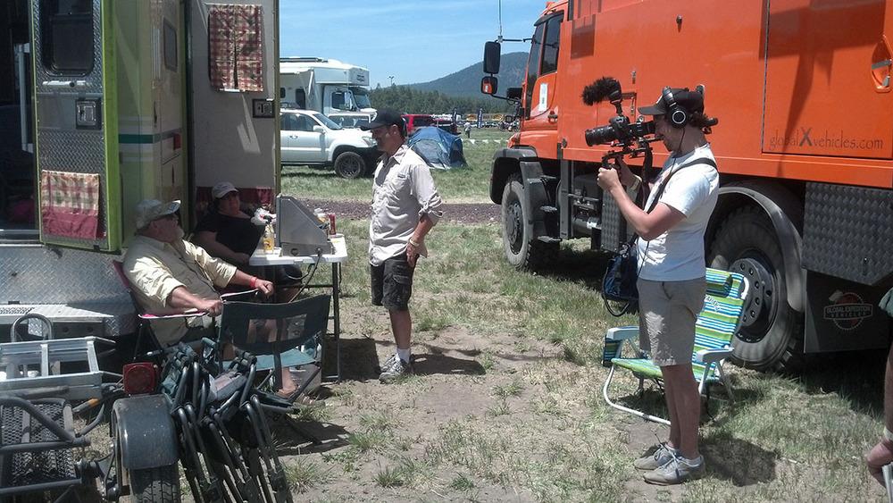 brad interviews a couple of adventurers.jpg