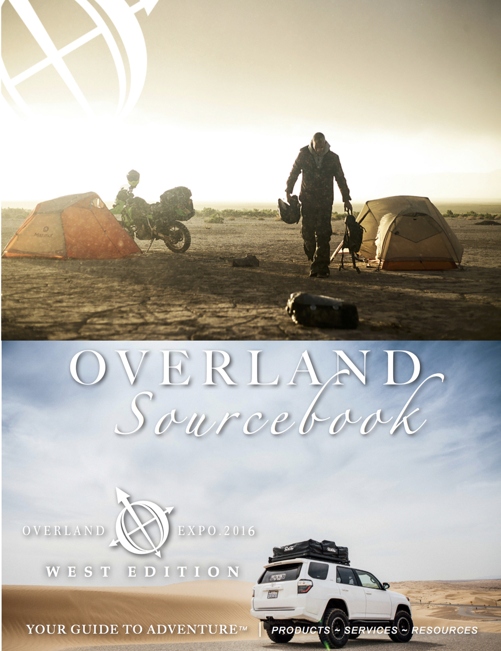 Download our 84-page   Overland Sourcebook ,  2016 WEST & 2015 EAST Editions