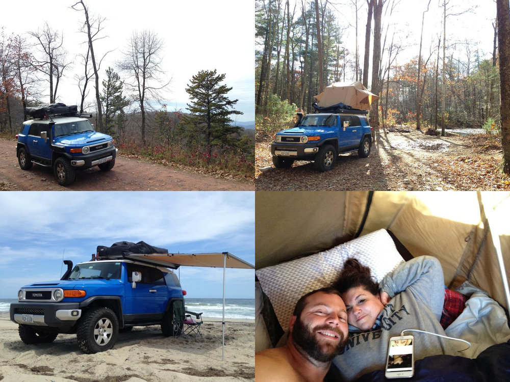 I have been into overlanding much longer than I've known the correct word for it. It just turns out that the man who setup the earliest trips I made (S-10 Roundups, hosted by Keith Holman, aka 4x4x4doors), and who inadvertently taught me much about the sport of offroading, was into overlanding. On all of the trips, most of our miles/hours were on dirt, with short jaunts on pavement or into town for parts. My wife is far more comfortable on her own ATV than she is in the passenger seat of a 4x4, but she loves camping and the rig we've built, so she tolerates the more white-knuckle aspects of traveling offroad with me. Kevin Hix • 2007 Toyota FJ Cruiser