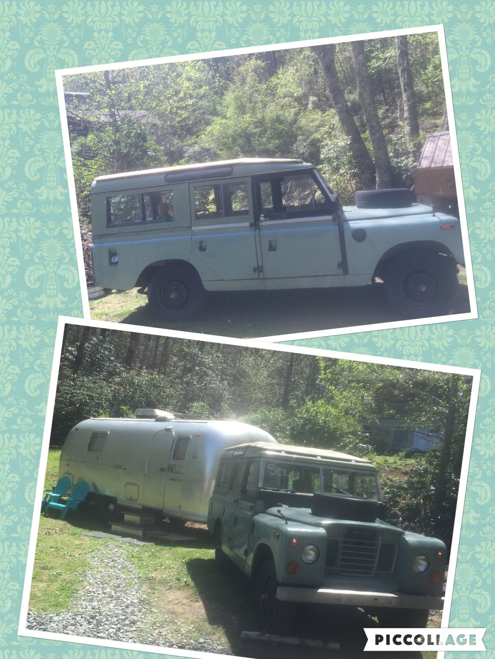 Love at first sight! Our newest child- road worthy but patiently waiting on some tender loving care. Enough room to haul all your kids and their friends. She's a classic! Phillip Weaver • 1967 Land Rover Series IIA109