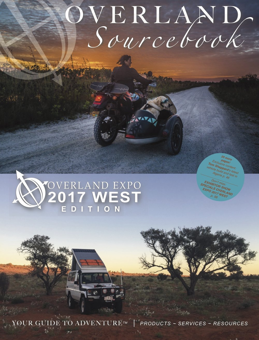 Download our 100-page   Overland Sourcebook   2017 WEST & 2016 EAST Editions