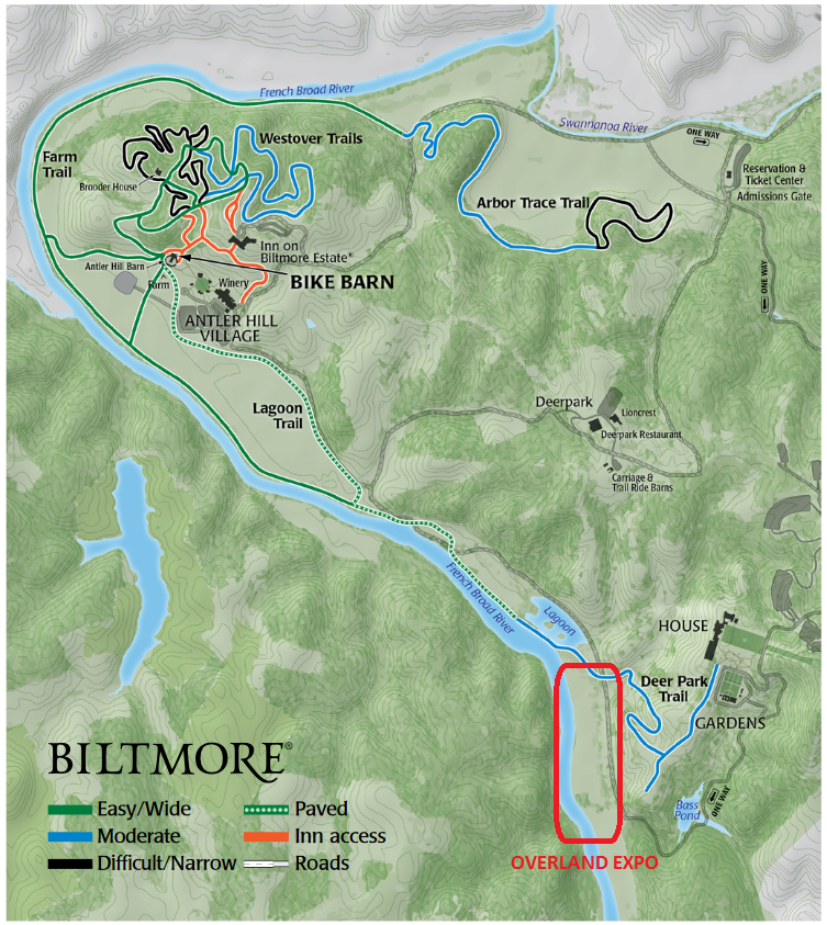 Biltmore Bike Routes Overland Expo.png