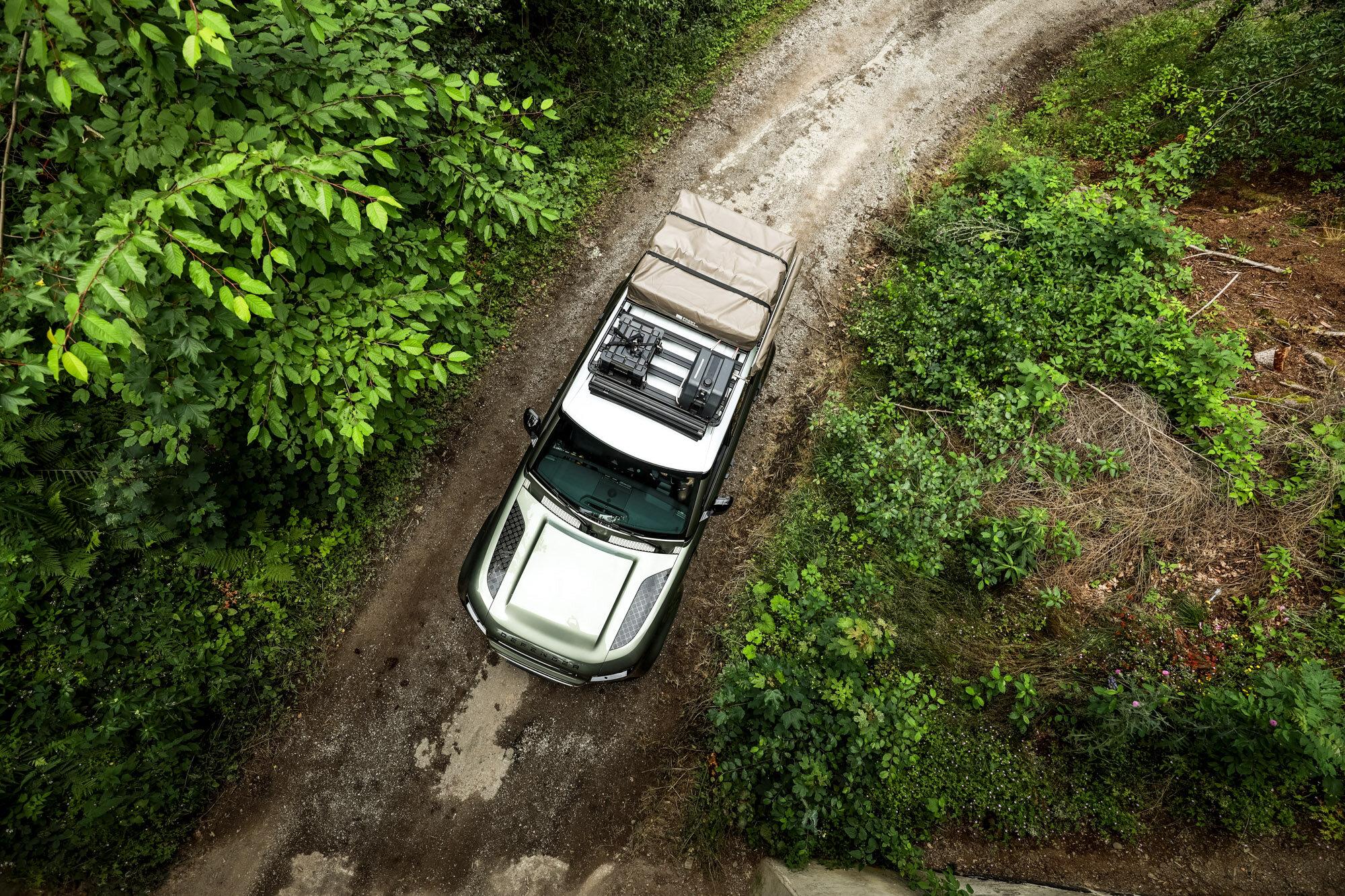 Front Runner Slimline Ii Roof Rack 2020 Land Rover Defender 110 Overland Expo