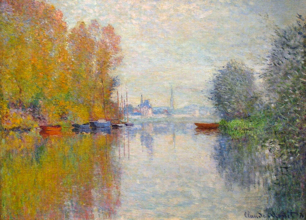 Autumn on the Seine at Argenteuil  1873