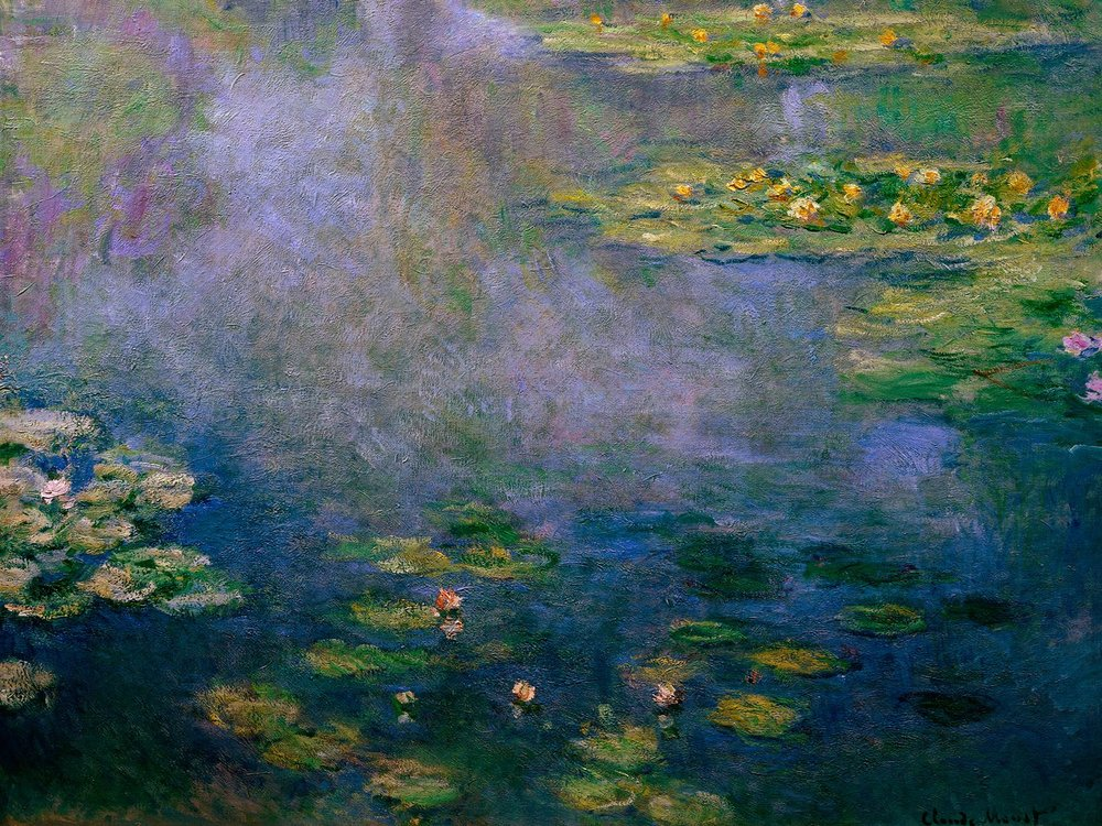 Water Lilies 1906-1907