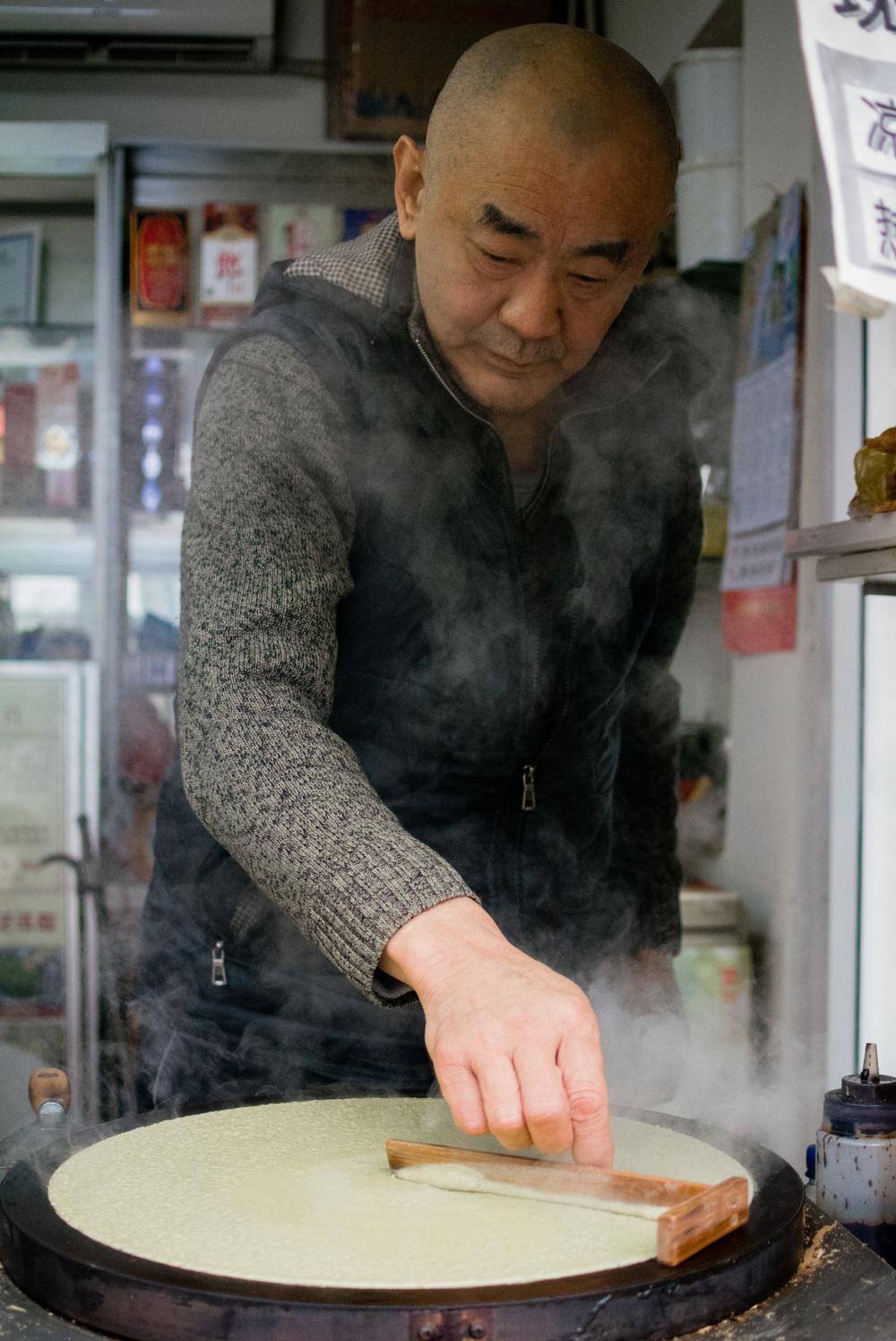 Jian Bing Gou Zi - Tianjin Pancake