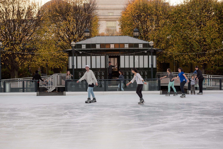national gallery of art sculpture garden ice skating rink u2014 dc