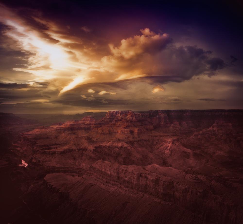 """Wild Skies, 30x45"""" 2012"""