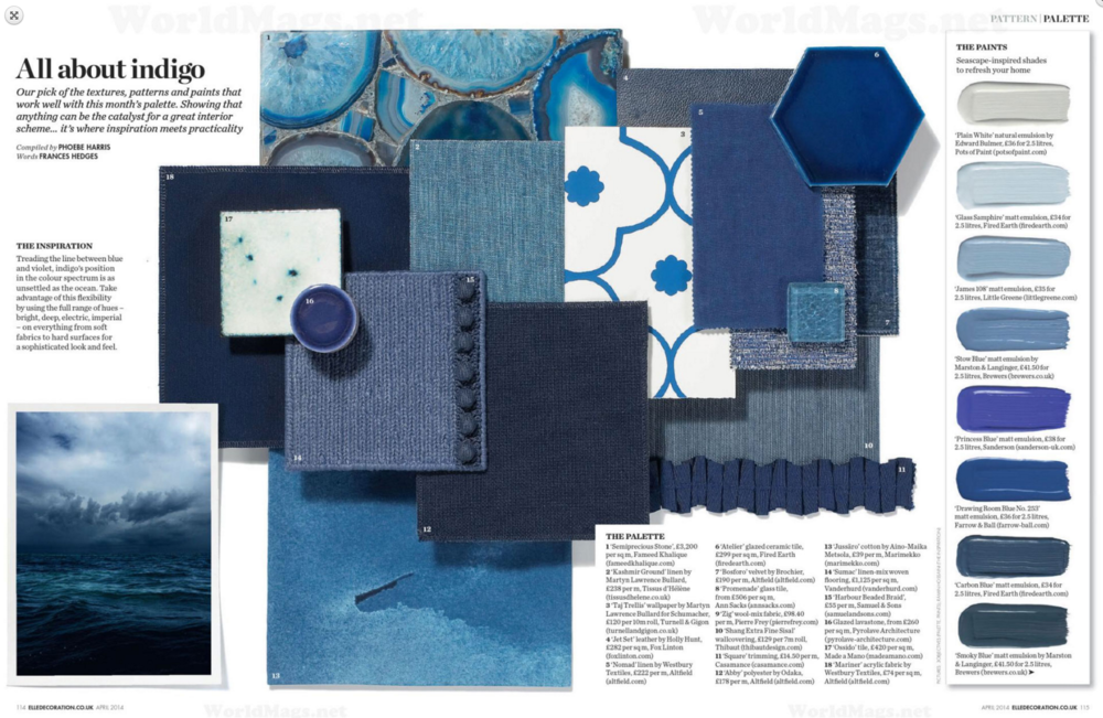 Elle Decoration Feature 2014