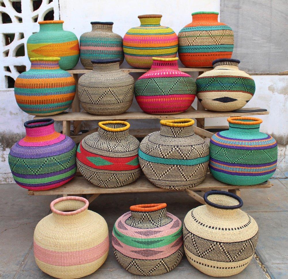 BEAUTIFUL BASKETS FROM GHANA
