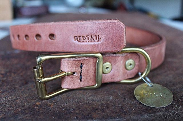 My good friend, @nathan_matei, lost his German shepherd, Ruger, a few months back when he escaped from the backyard and was struck and killed on the highway. This is a collar ordered for him by his big brother, @dorianmatei, for Nathan's new German Shepherd, Mila.  Gotta dig that brotherly love.  #brotherhood #dog #collar #dogcollar #germanshepherd #madeintexas #handmade #madeinusa🇺🇸 #forgedwithgrit