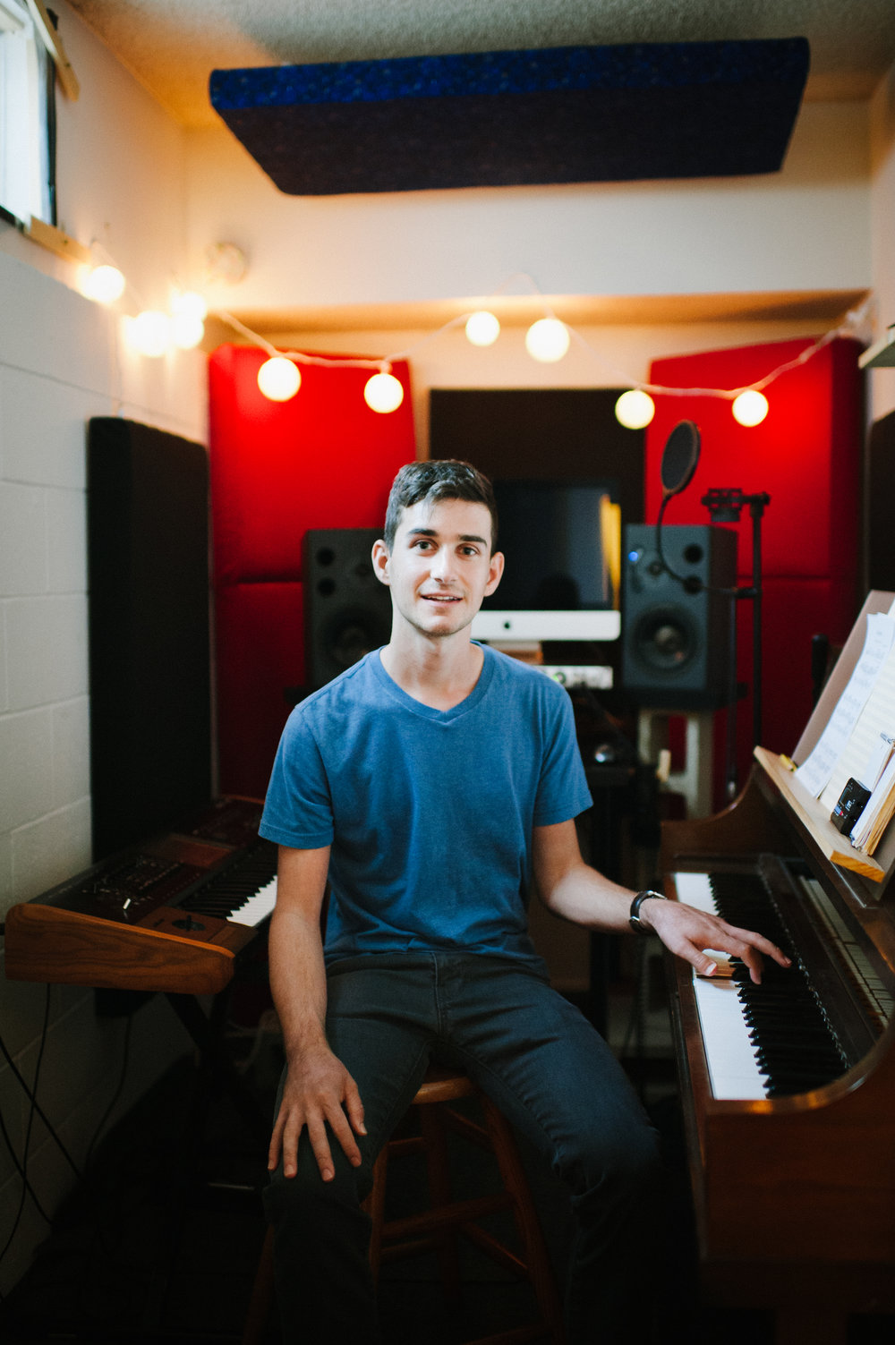 Ted Case is a freelance composer based in Los Angeles, CA. - Ted moved from his home in Portland, OR to Southern California to attend music school at USC's Thornton School of Music. He majored in jazz piano, with additional intensive study in composition and recording. Since graduating in 2014, he has enjoyed a busy life in the Los Angeles music scene - writing string arrangements for indie bands, performing as a music director and keys player, and producing music for media.