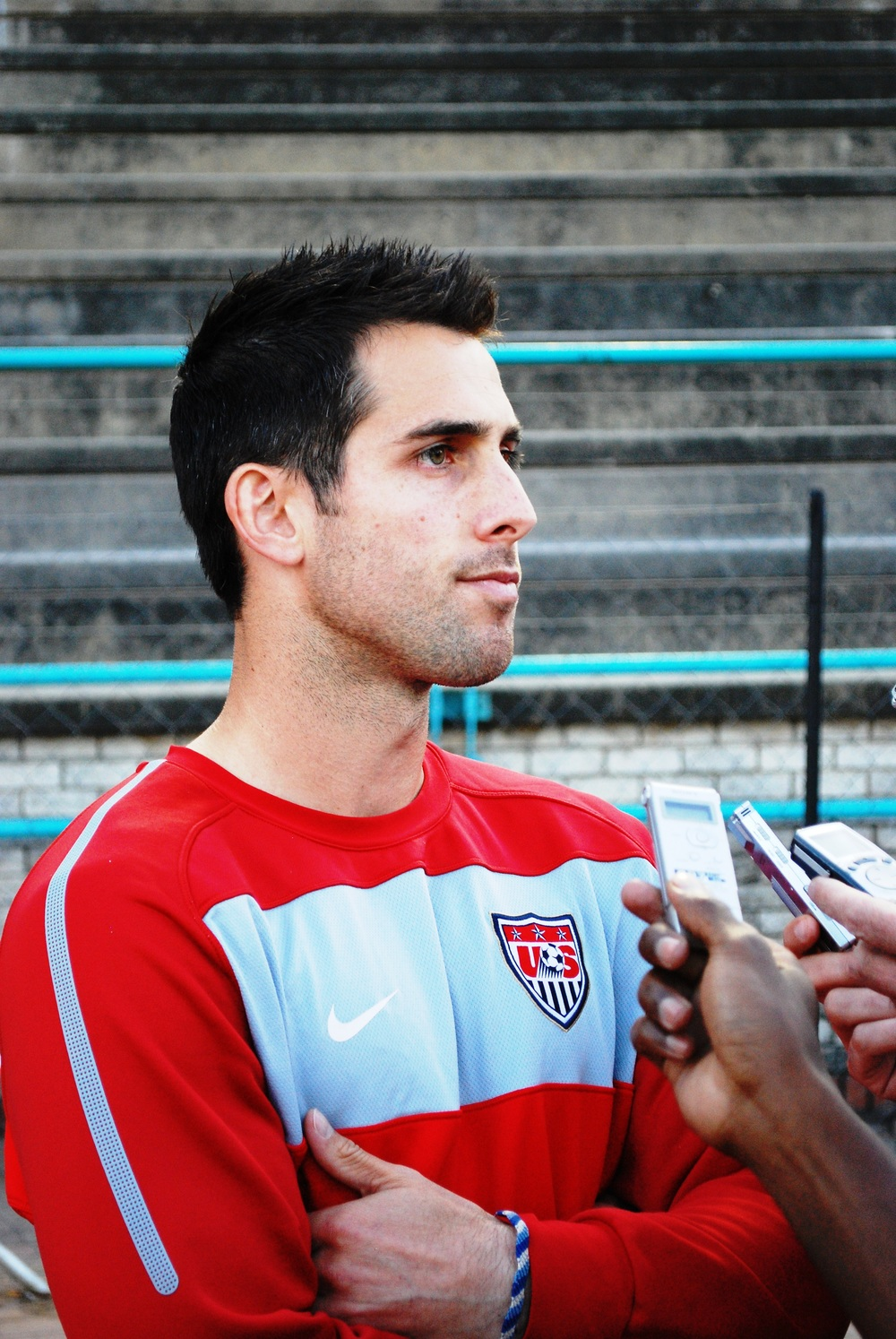 Carlos Bocanegra:  another trusty American soccer warrior retires.