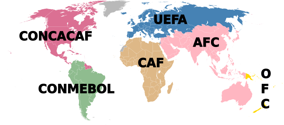 If we have to have international breaks, we might as well take the opportunity to brush up on world geography.
