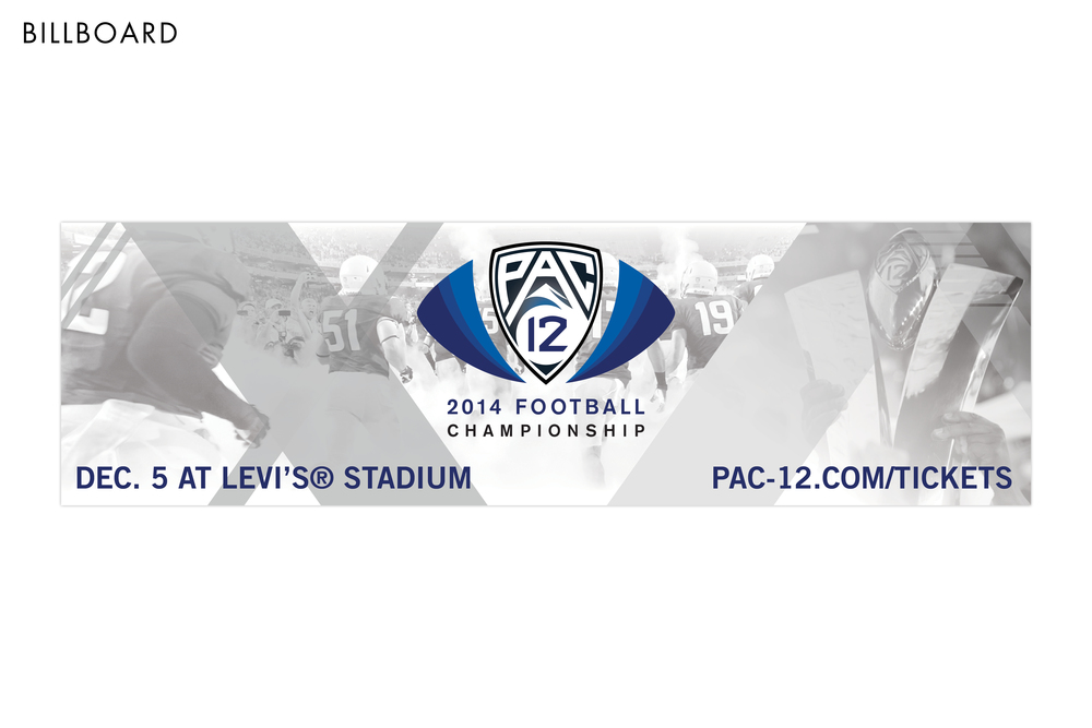Pac-12 Football Championship Game Billboard