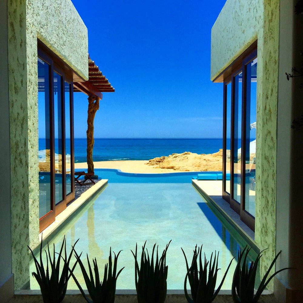 Two bedroom beachfront Villa at Las Ventanas, Cabo San Lucas.