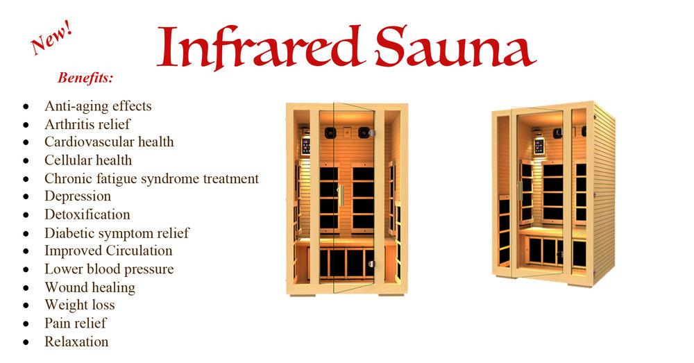 Infrared Sauna!