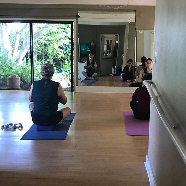 Our Wonderful Sunday Morning Slow Flow Yoga. Come and join us! #yoga #fitness #bridgewaygym #sausalito #gym #exercise #stressreduction #flexibility #balance