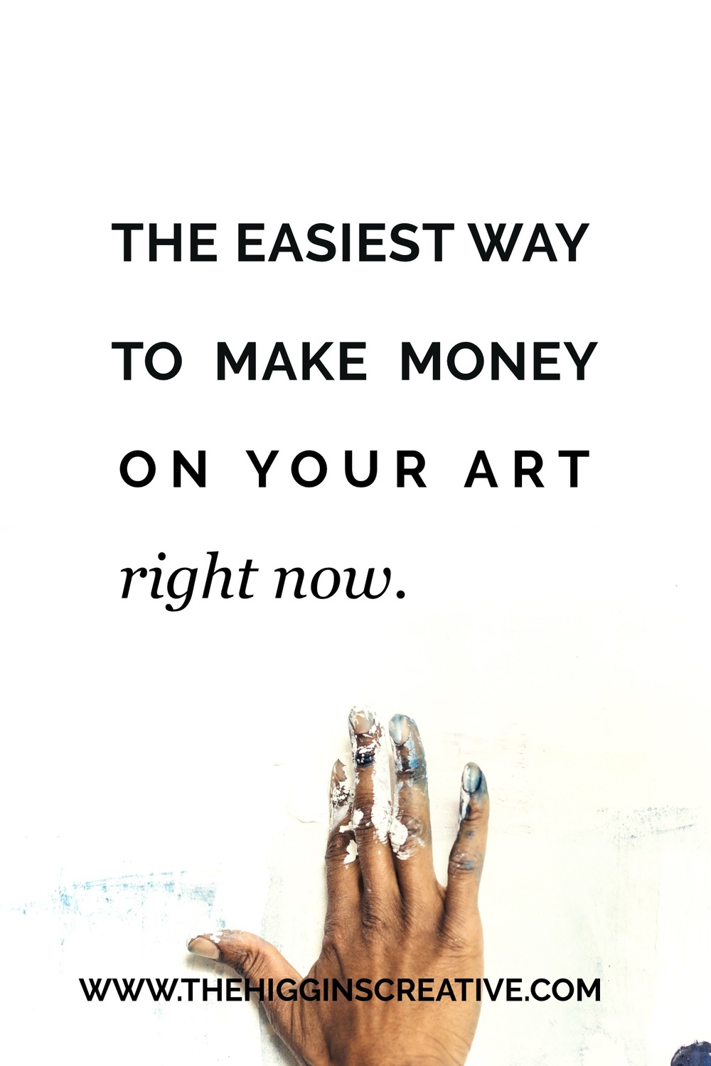 Want to know the easiest way you can begin to build income with your art? The secret isn't super complicated.