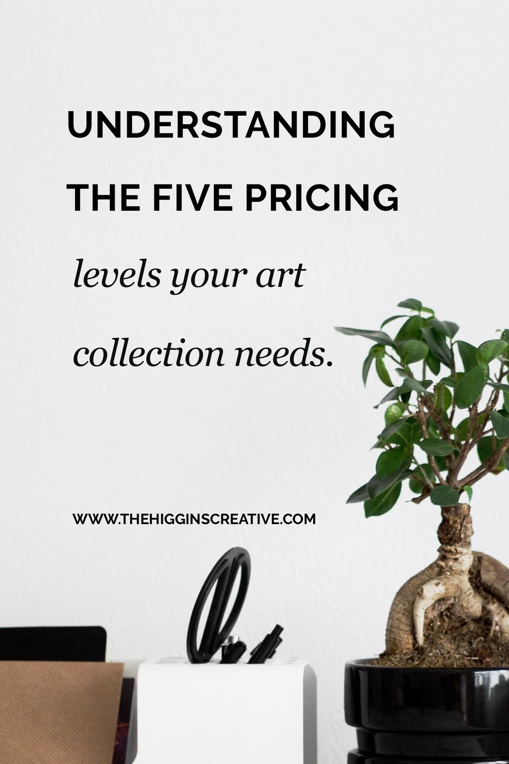 As an artist and maker it's important to consider the five price points your art collection needs when you launch. When people struggle to pay for your art and you've built up a relationship you will often change your pricing constantly to fit them. These points will help you set price points to eliminate any issues with pricing and help you make money from your art.