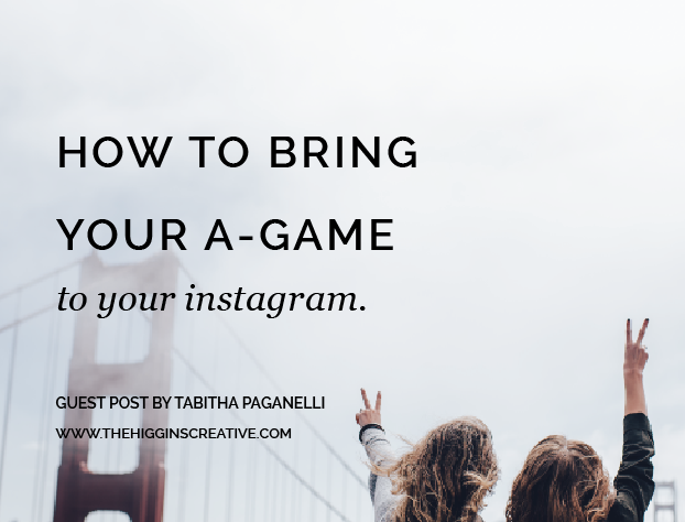 Are you struggling know what to post on Instagram for your business? Today on the journal find out how to bring your A-Game to your Instagram. Click the link for all the juicy tips.