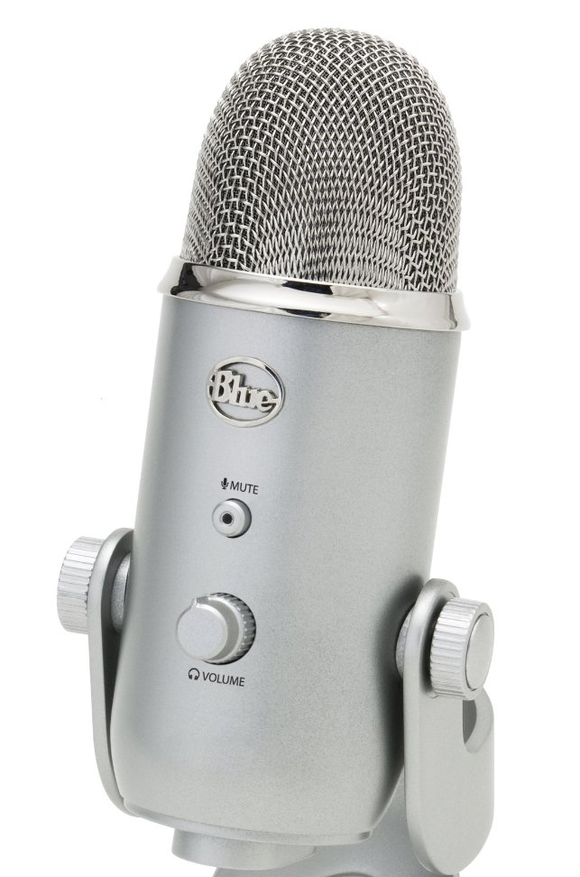 Blue yeti microphone This is the very mic that we record the Wake to Make podcast on. A great microphone for the price and very easy to use. It hooks up to your computer with a standard USB cable, and requires no extra equipment or software to work. Great for podcasters, online course creators, or those wanting to sound better on their FaceBook Lives.