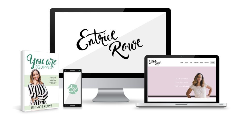 "Entrice Rowe    Life Coach + Mentor    ""They take the time to get to know their clients  and those they serve in order to create a cohesive and upscale brand!"""