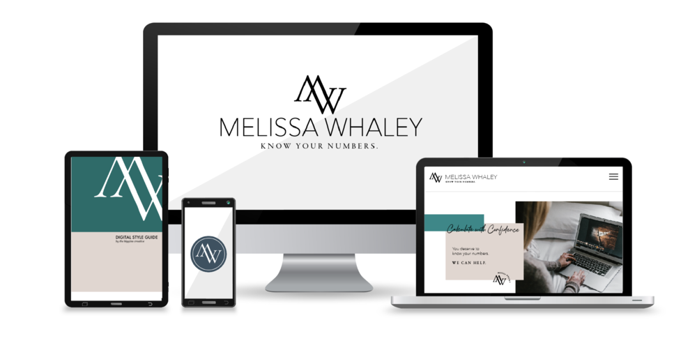 "Melissa Whaley    Financial Coach   ""Lilah helped me work through my ideas and  create a brand worthy of my vision  and the luxury clients I'm serving. The process was so seamless."""
