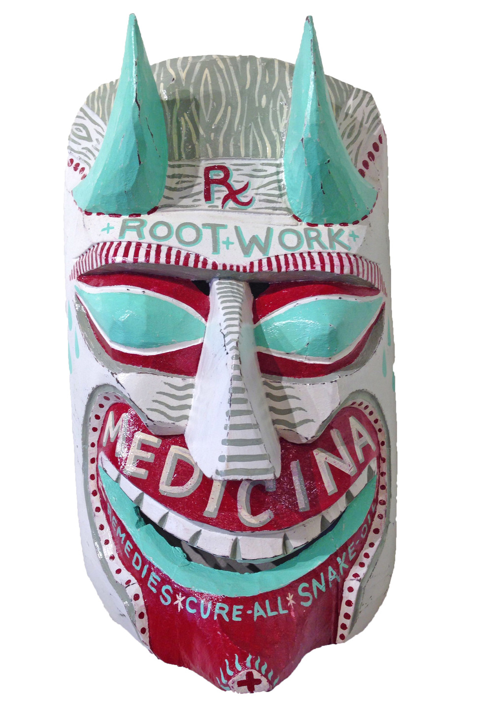 Red Truck Gallery Medicina Mask