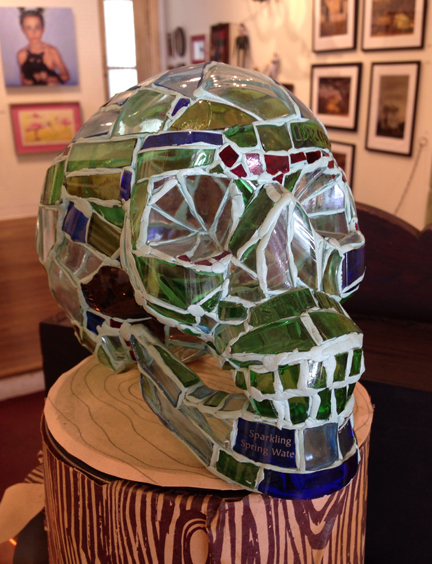 Glass Skull by Andres Basurto