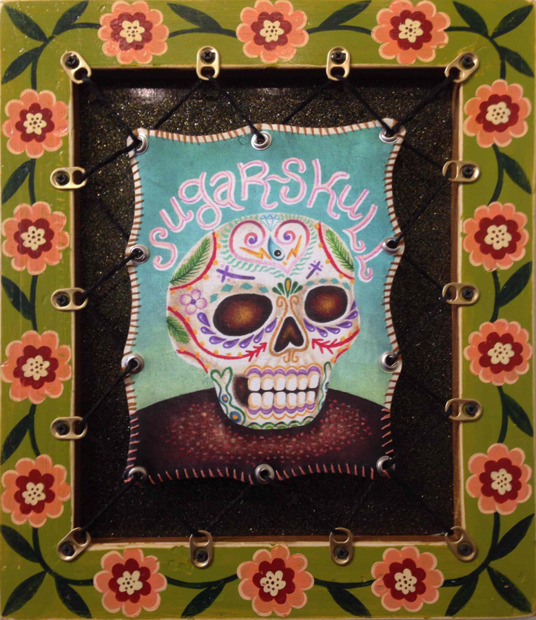 Red Truck Gallery Sugar Skulls by Bryan Cunningham