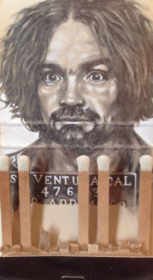Red Truck Gallery Charles Manson by Jason D'Aquino