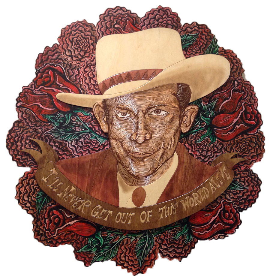 Red Truck Gallery I'll Never Get Out Of This World Alive (Hank Williams) by Dennis McNett