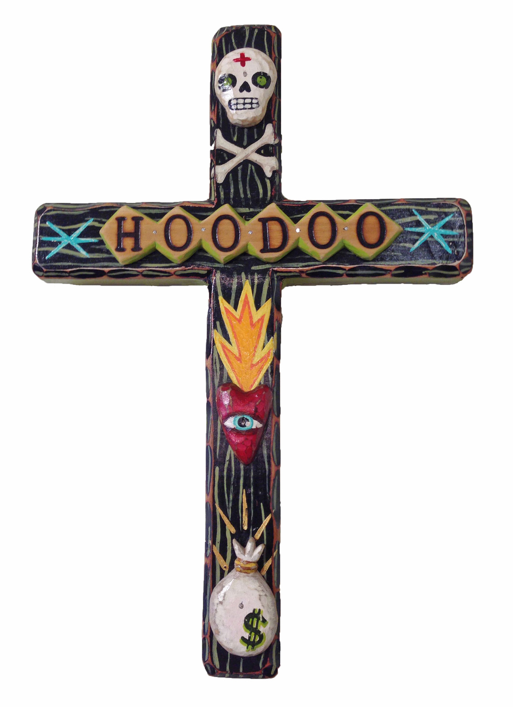 Hoodoo Cross by Bryan Cunningham