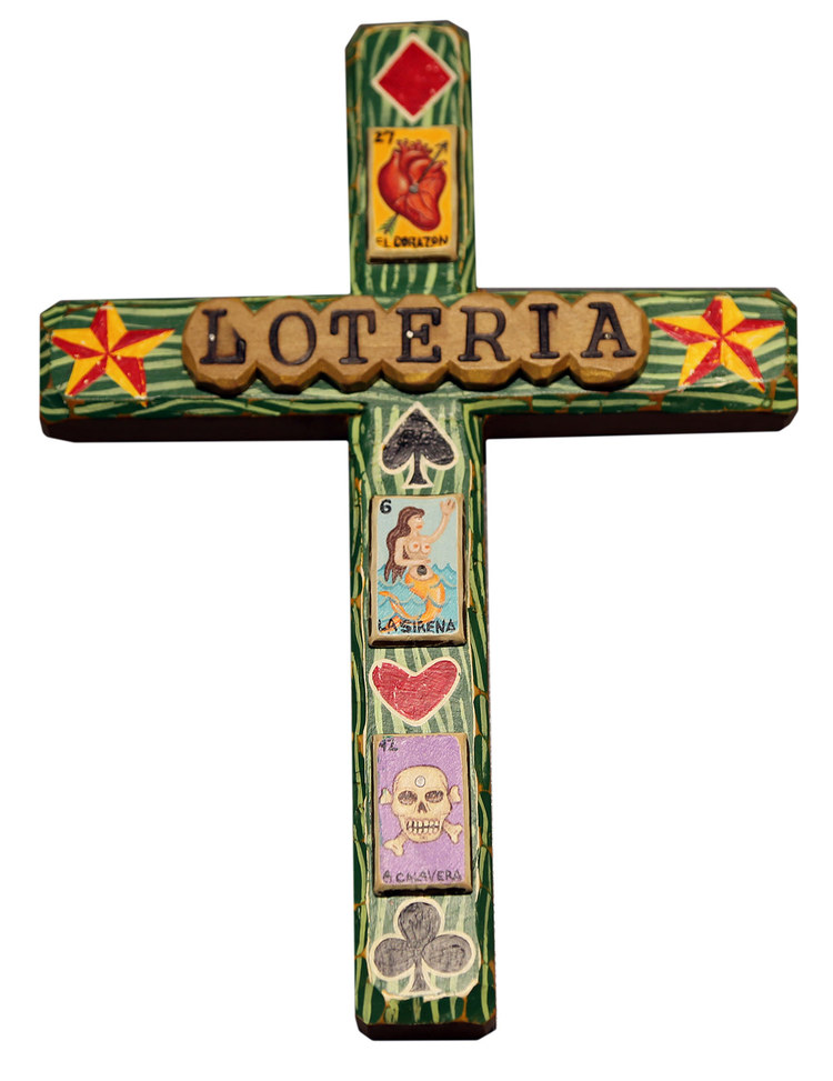 Loteria Cross by Bryan Cunningham
